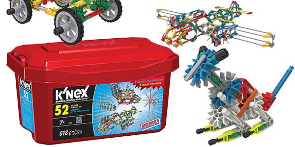 knex juego construcción 618 piezas barato