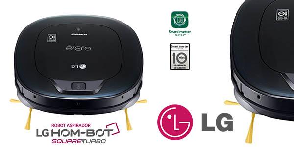 LG VSR6600OB hombot square turbo serie 7 robot aspirador barato