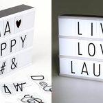 Lámpara lightbox Caja de luz LED