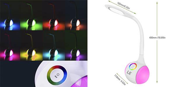 luminaria LED estudio varios tonos luz relación calidad-precio