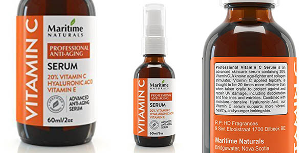maritime naturals sérum ácido hialurónico vitamina C y E barato