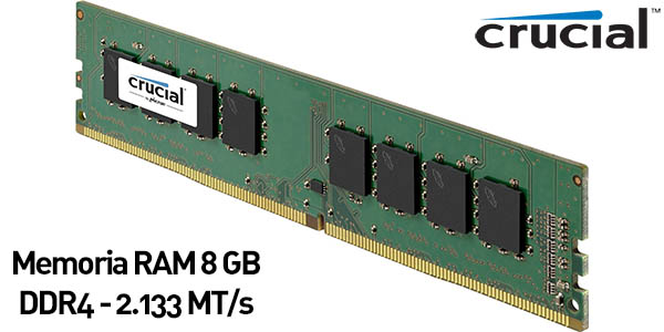 Memoria RAM Crucial CT8G4DFS8213 de 8GB DDR4
