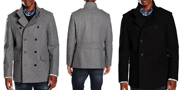 New Look Military Wool abrigo lana hombre barato