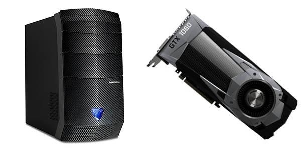 Medion Erazer P5237 F con Nvidia GeForce GTX 1060