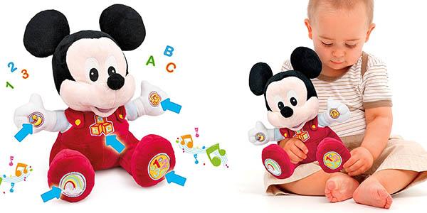 peluche educativo Mickey Mouse bebés barato