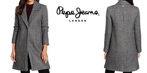 Pepe Jeans Doris abrigo mujer barato