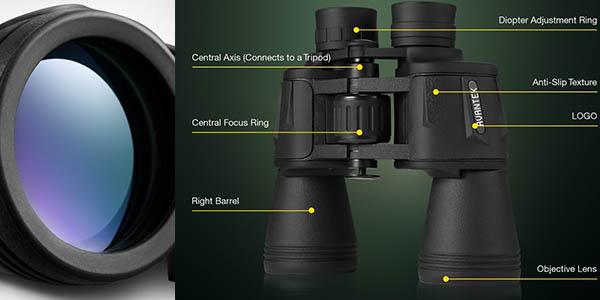 prismáticos plegables Avantek zoom visión nítida relación calidad-precio brutal