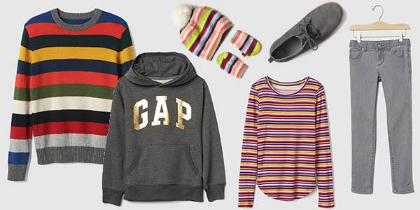 ropa bebés niño niña calidad GAP ofertas El Corte Inglés febrero 2017