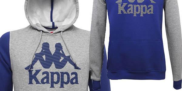 sudadera capucha Kappa Authentic Kabriz chollo