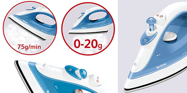 Tefal FV1230 inicio plancha vapor relación calidad-precio brutal
