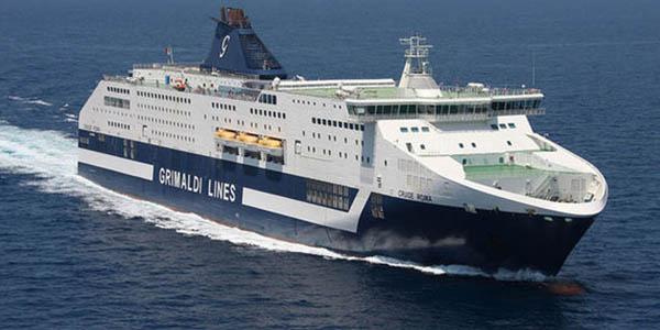 viaje ferry grimaldi lines Barcelona Cerdeña