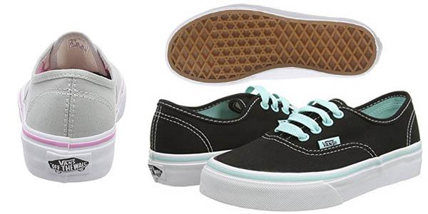 Vans Authentic Pop zapatillas cómodas unisex niños