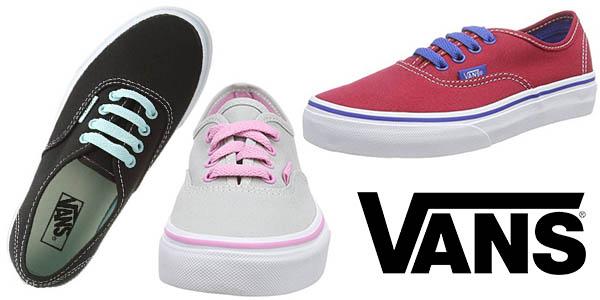 Vans K Authentic Pop Junior zapatillas baratas