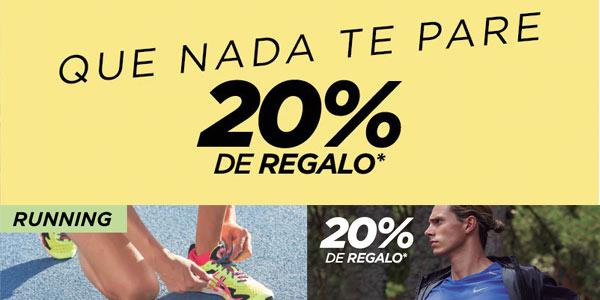 20% de regalo en Running El Corte Inglés