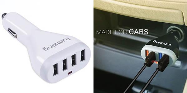 Cargadores USB para coche Lumsing baratos