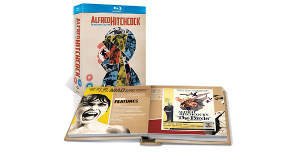 Alfred Hitchcock The MasterPiece Collection pack de 14 blu-ray barato en eBay