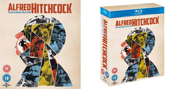 Colección de películas remasterizadas Alfred Hitchcock: the Masterpiece Collection en Blu-Ray baratas en Amazon