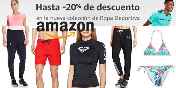 amazon nueva colección deporte cupón descuento marzo abril 2017