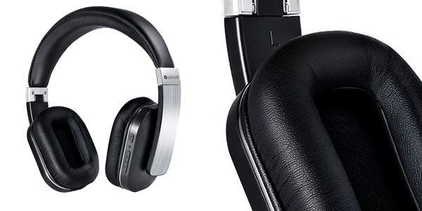 Auriculares Bluetooth AudioMAX HB-8A de alta calidad con micro y cancelación de ruido