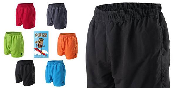 bañador tejido ligero cómodo tipo shorts