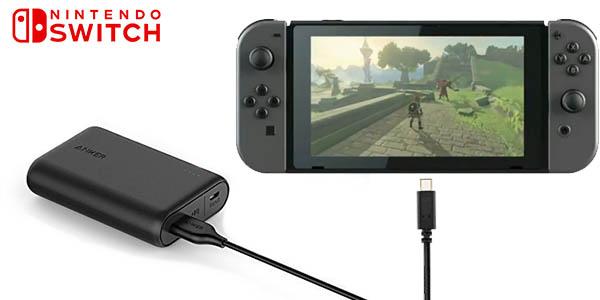 Batería Anker PowerCore 10000 para Nintendo Switch