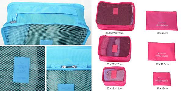 bolsas cubos rejilla ordenar equipaje viajes