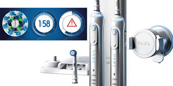 Braun Oral-B Genius 8900 cepillos cabezales oscilantes aviso tiempo