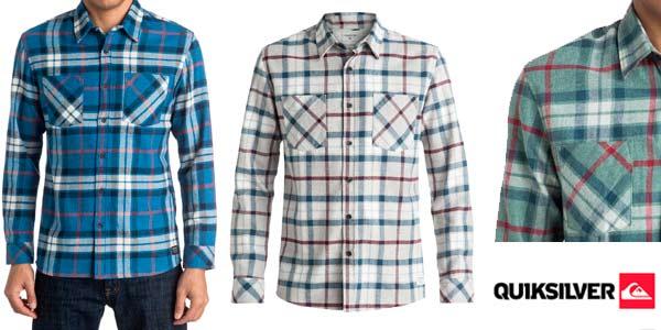 Camisa Quiksilver Fitzthrower Flanne para hombre rebajada en eBay