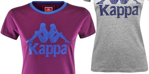 camiseta algodón manga corta Kappa Authentic Zabas relación calidad-precio brutal