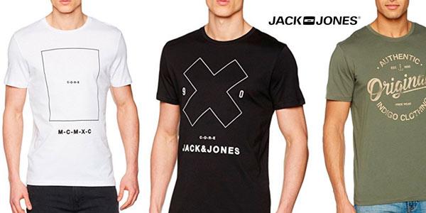 Camisetas Jack & Jones para hombre baratas con cupón de descuento NOVEDADES17 en Amazon