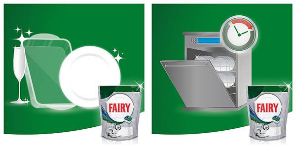 120 cápsulas Fairy Platinum Todo en Uno