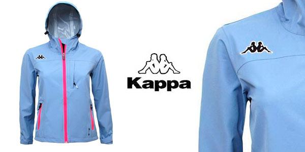 Chaqueta cortavientos impermeable marca Kappa para mujer rebajada en eBay