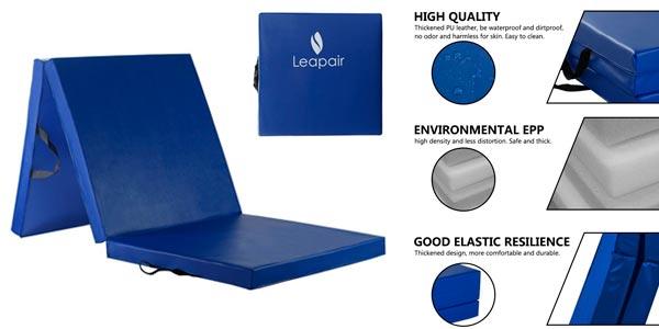 Colchoneta de espuma para gimnasia de alta calidad rebajada en Oferta Flash de Amazon