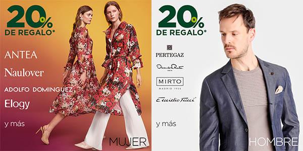 descuentos en moda de primeras marcas El Corte Inglés en la Fiesta de la Primavera