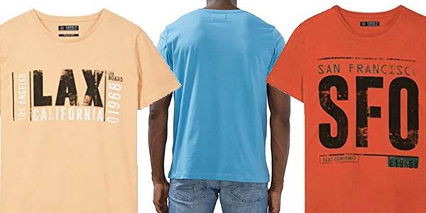 Esprit camisetas varios diseños hombre chollo
