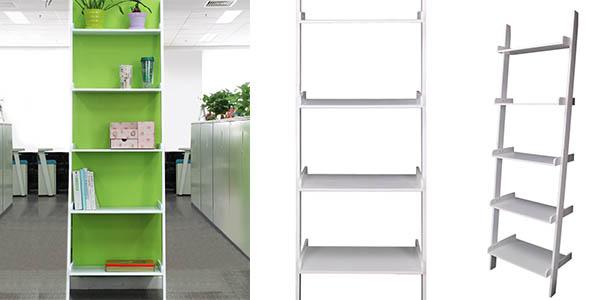estantería tipo escalera funcional barata