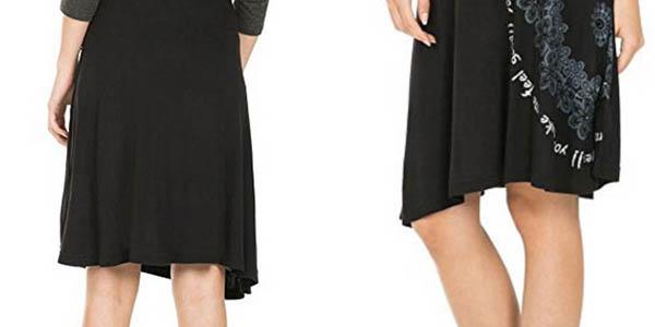 falda Desigual Vigo algodón precio brutal
