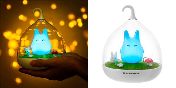Lámpara infantil Songmics Led Totoro chollo