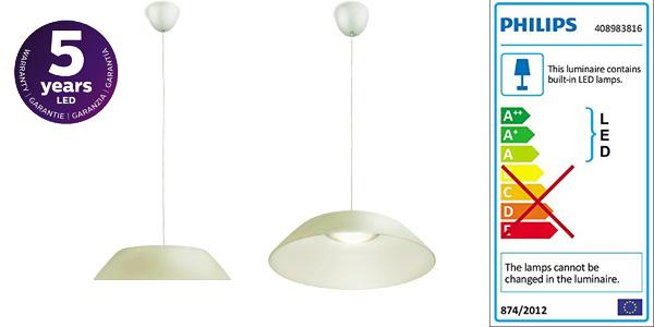 Lámpara colgante Philips myLivig Fado barata en Amazon