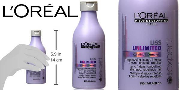 L'Oréal Professionel Liss Intense champú alisador barato