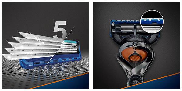 maquinilla afeitar Gillette fusion Proglide FlexBall recambios