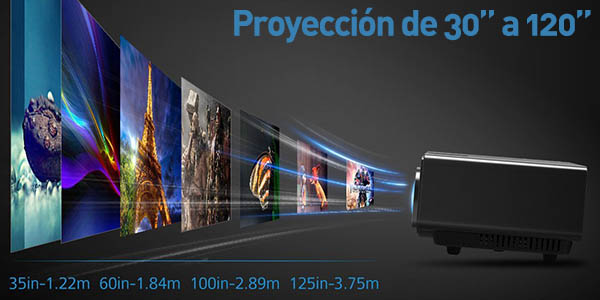 Mini Proyector Mpow a 1080p