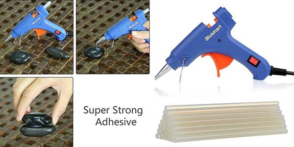 minipistola eléctrica pegamento barras termofusibles chollo