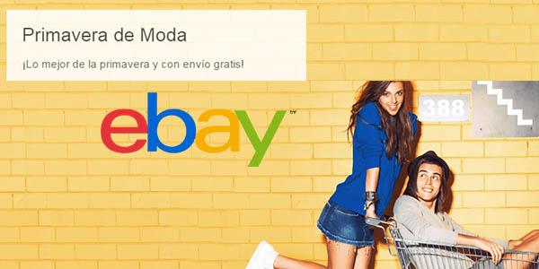 ofertas eBay moda primavera-verano 2017