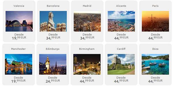 ofertas vuelos Europa España Vueling 31 marzo de 2017