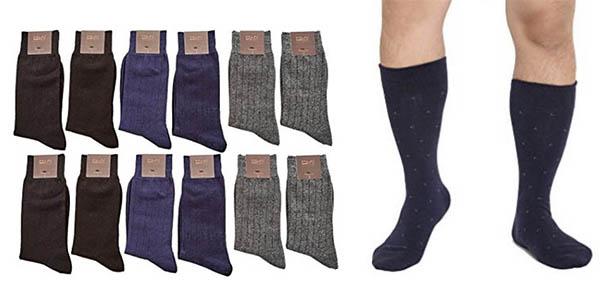 pack 12 calcetines M La Bella hombre oferta flash Amazon