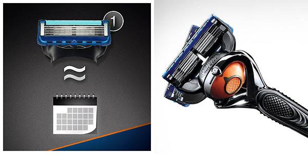 pack Gillette Fusion Proglide FlexBall 10 recambios precio brutal