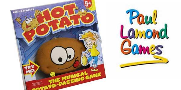 Juego de habilidad Hot Potato de Paul Lamond Games