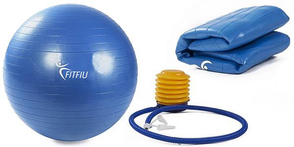 pelota fitfiu pilates con mancha hinchable barata