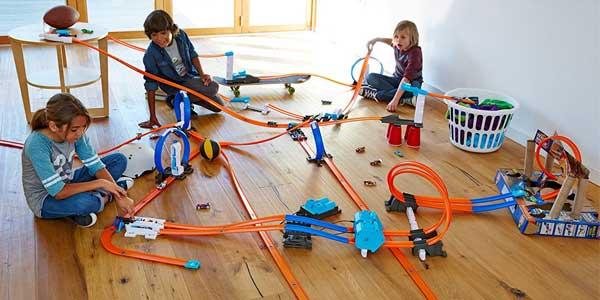 Pista Supervértigo Hot Wheels de Mattel barata en Amazon